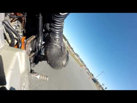 Testing Continental Tyres SWS 30TH August Crash At end of session