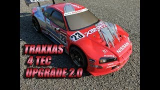 Traxxas 4 Tec 2 0 Brushless Run After Upgrades