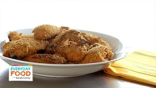 No-fry Crispy Baked Chicken Recipe - Everyday Food With Sarah Carey