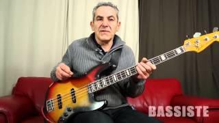 Rémy Chaudagnes les modes d'improvisation - Bassiste Magazine #47