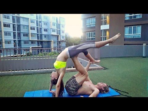 Acro Yoga | Beginner | Transitions
