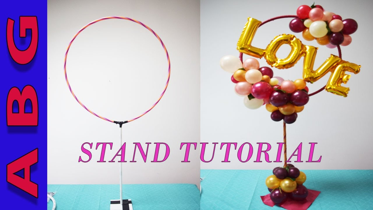 DIY Organic Balloon STAND tutorial for arches, centerpieces and ...