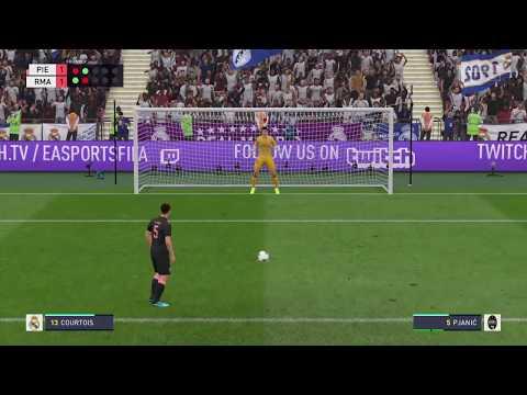 Real Madrid VS Juventus Penalties FIFA 2020