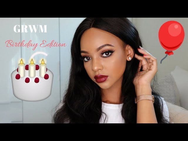 GRWM: Birthday Edition | #MACsnowball | MIHLALI N
