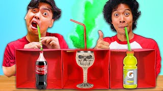 Don't Choose The Mystery DEATH STRAW Drink - Challenge 2