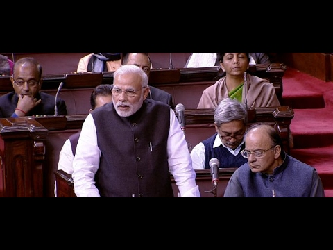 PM Modi replies to the Motion of Thanks on the President's Address in the Rajya Sabha