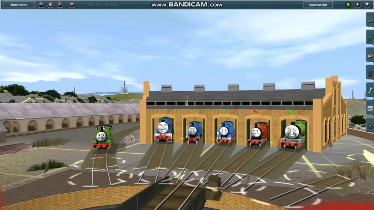 Trainz Thomas & Friends Gameplay : by Dontae Hill