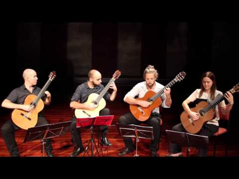Perth Guitar Quartet performs a sample of works by Duncan Gardiner