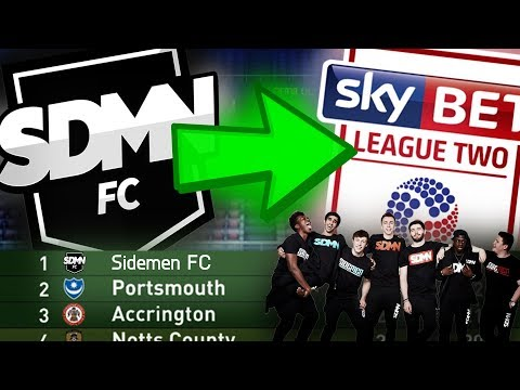 COULD SIDEMEN FC WIN FOOTBALL LEAGUE 2? - FIFA 17 CAREER MODE CHALLENGE!