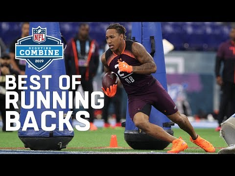 Best of Running Back Workouts! | 2019 NFL Combine Highlights