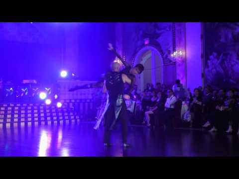 Carlynn Reed with Carlos Zapata performs cabaret dance at 2016 Canada Superstars