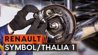 Cum se înlocuiește cilindru frână roți pe RENAULT SYMBOL/THALIA 1 [TUTORIAL AUTODOC]