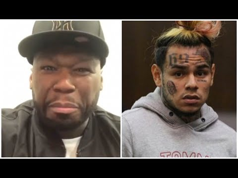 50 Cent Reacts To 6ix9ine Getting RICO Charge By FEDS