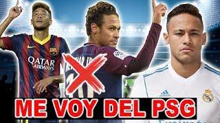 Este es el NUEVO EQUIPO de NEYMAR, Real Madrid o Barcelona ( NO ES EL PSG )