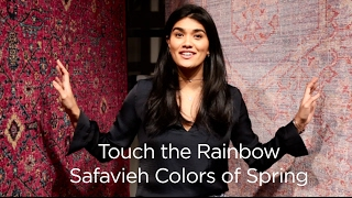 The Colors of Spring - Safavieh Rugs at Vegas Market