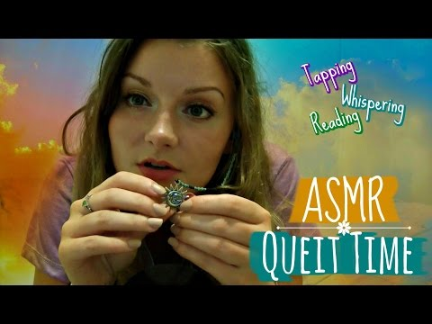 ASMR Quiet Time 🌝 Tapping, Reading & Close Whispers