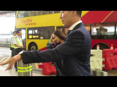 Jessica departure at hong kong airport 171016