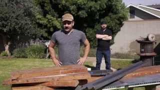 Justin Dipego's Reclaimed Lumber Table