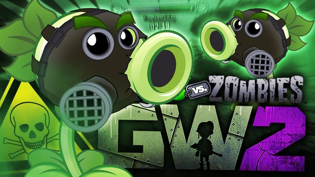 Plants Vs Zombies Gw 2 51 Toxic Pea Youtube