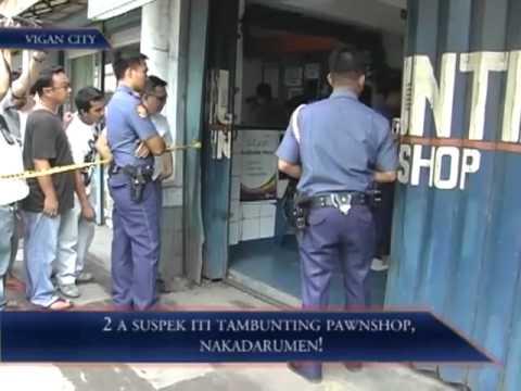 2 A Suspek Iti Tambunting Pawnshop, Nakadarumen!