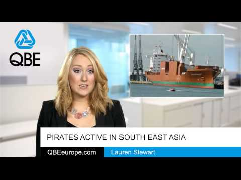 Pirates active in South East Asia