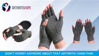 Therapeutic Compression Gloves - ArthritisHope