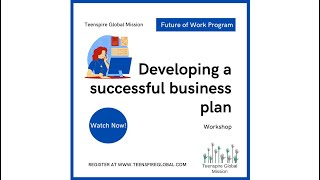 Future of Work: Creating a Successful Business Plan