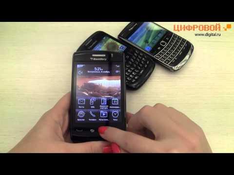 Видеообзор смартфонов Blackberry Bold, Storm 2 и Curve