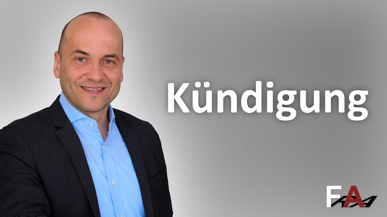 Krankheitsbedingte Kündigung I Fachanwalt Arbeitsrecht Berlin Youtube
