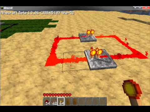 Minecraft - How to Make a Simple But Fast Clock With Redstone ...