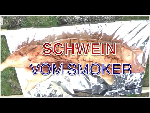 ein ganzes 30kg schwein auf dem 400kg smoker grillen klaus grillt youtube. Black Bedroom Furniture Sets. Home Design Ideas