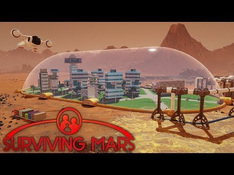 MARS COLONY SURVIVAL | Surviving Mars | Let's Play Gameplay