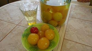Замечательные маринованные помидоры без добавления зелени. Ответ на вопрос.