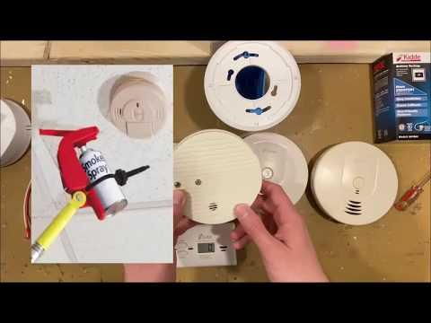 Электрик в США. Пожарная сигнализация. Датчики дыма и угарного газа.