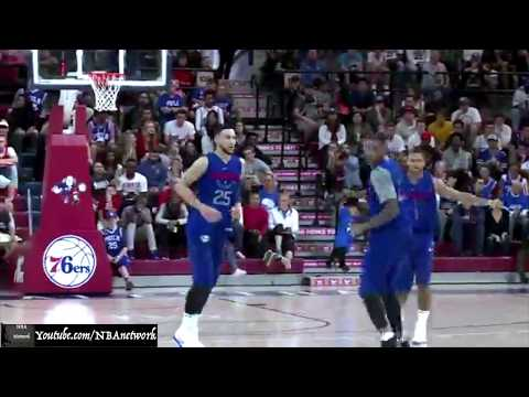 SIXERS' Ben Simmons vs Markelle Fultz - Scrimmage Highlights!