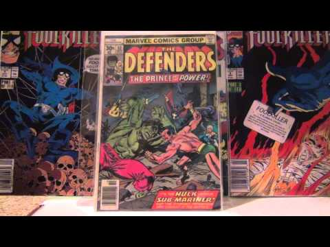 5162013 My complete Defenders Comic Book run of vol 1,2 and 3 and some extras!