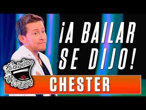 ¡A bailar! Chester estudia la rumba en los diferentes estratos sociales