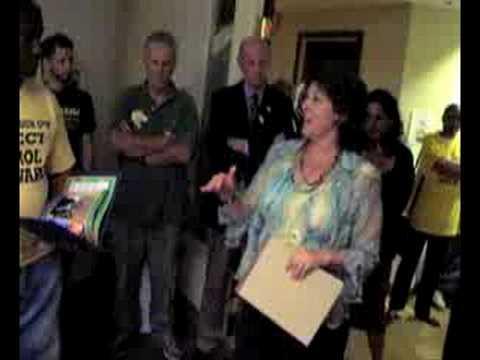 Carol Schwartz at the 9/9 DC Primary
