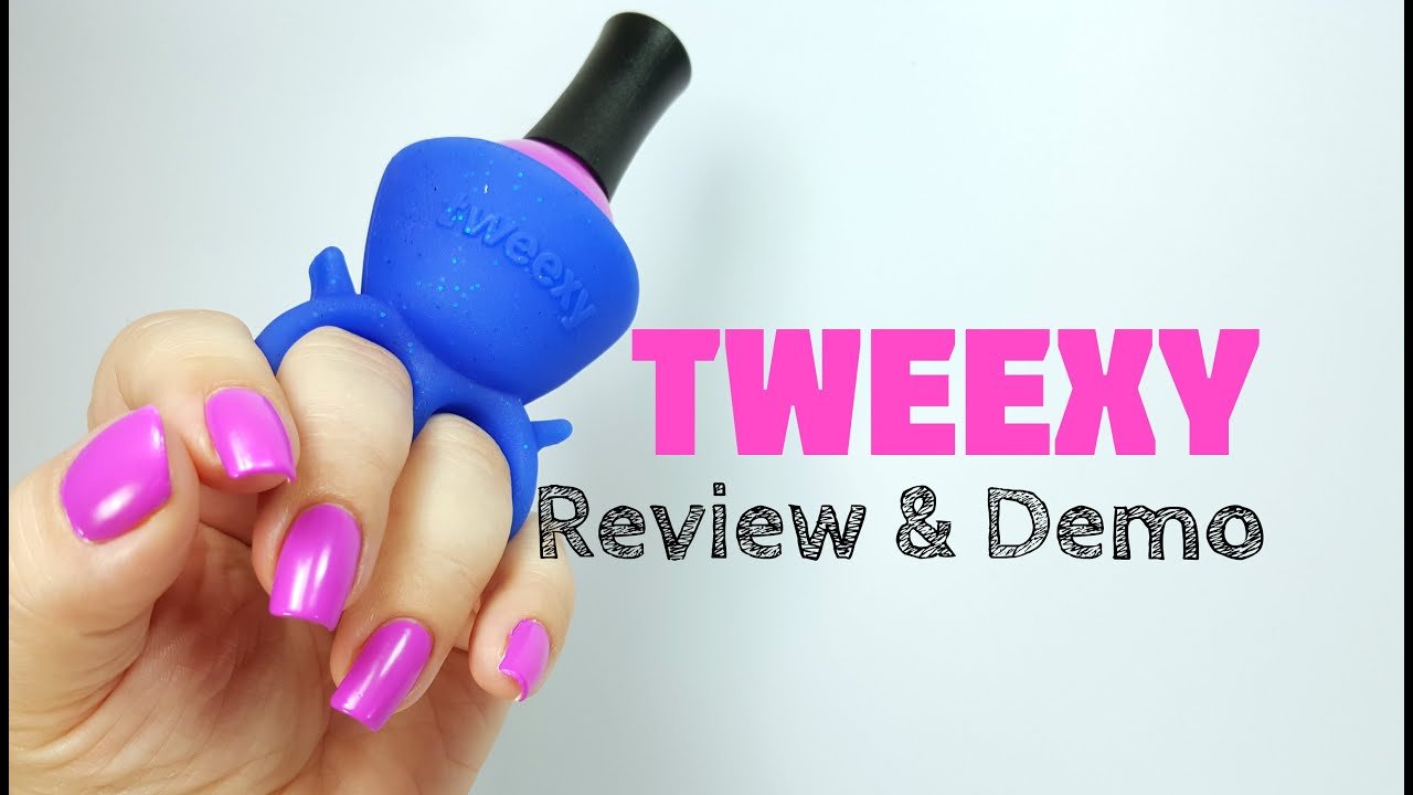 Tweexy A Wearable Nail Polish Holder Review Demo