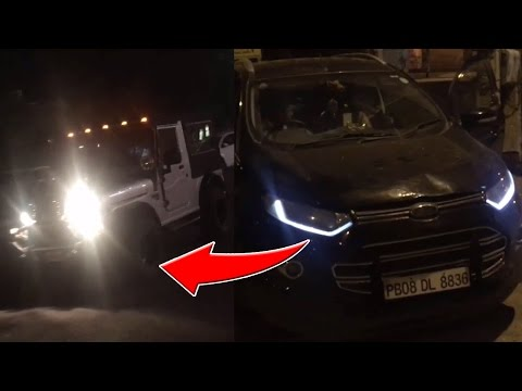 NIGHT LIFE IN LUDHIANA🚨 Modified Cars || THAR