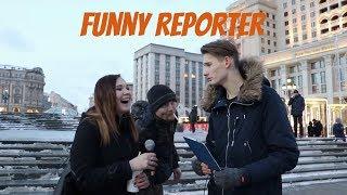 Funny Reporter- Prank