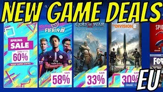 PS4 SPRING SALE MORE GAME DEALS ADDED