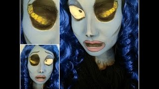 Corpse Bride Halloween Face Paint Tutorial