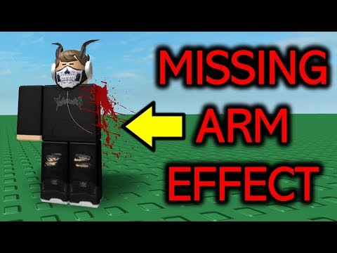 Get The Missing Arm Effect On Your Avatar 💀