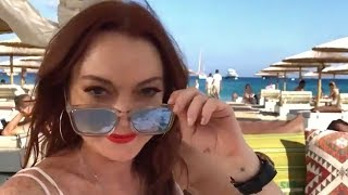 Lindsay Lohan Shares First Tease of Lohan Beach Club Reality Show