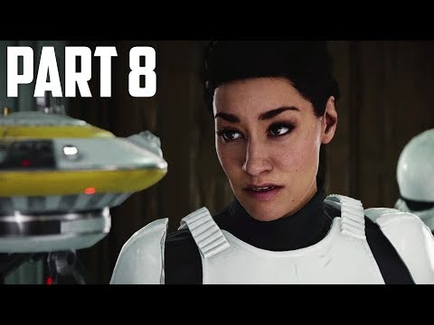 STAR WARS: BATTLEFRONT 2 Walkthrough Gameplay Part 8 - Infultration [Battlefront II BF2]