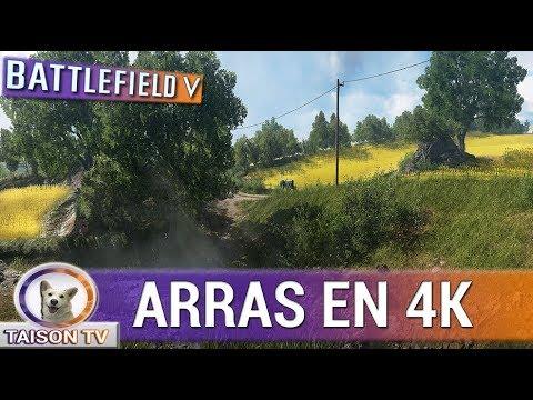 Battlefield V ARRAS Gameplay En 4K 60 FPS