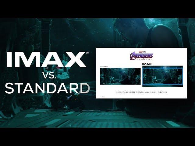 Avengers: Endgame IMAX® Screen vs. Standard Screen | Trailer #1