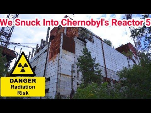Chernobyl We Got Inside The Reactor (Very Dangerous)
