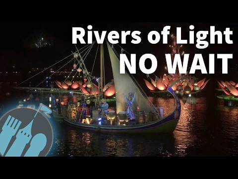 Tips For Seeing Rivers of Light at Disney's Animal Kingdom With No Stress and No Wait!